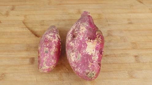 祖传八代的红薯秘制吃法,不用一滴油,香甜软糯,营养更健康!