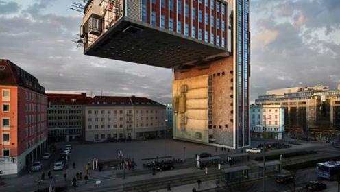 设计师设计30年后的房子,垂直90度,能住人吗?