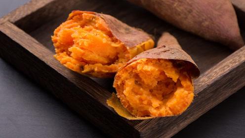 蒸红薯,直接上锅蒸就错了,牢记这个窍门,保证红薯香甜绵软又好吃