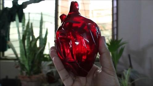 小伙完美复刻出心脏模型,有望成为代替人类心脏的神器!