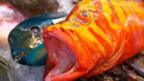 顶级石斑鱼,大厨5秒变成刺身,极致刀工令人叹服!