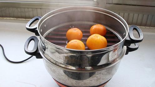柿子放锅里蒸一蒸,想不到这么厉害,后悔知道的太晚,快学学