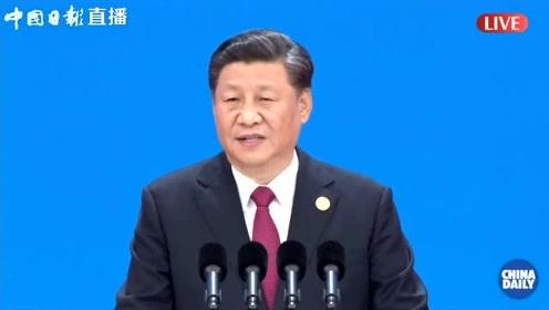 习近平:首届进博会上宣布的开放措施已经基本落实