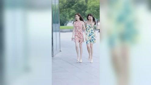 两位小姐姐如果穿汉服的话,不知道哪个更好看
