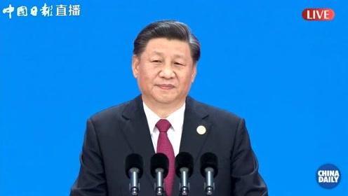 习近平:中国市场这么大,欢迎大家都来看看