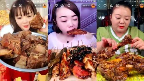 清纯妹子吃播走红 1年后身材变化吓坏网友