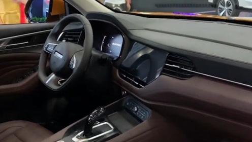 哈弗争气了!新车颜值不输宝马X6,油耗6.8L,真为国人争气