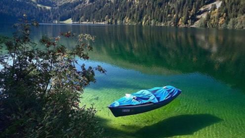 世界上最纯净的湖泊,湖水一眼看到底,却藏着6米长的水怪