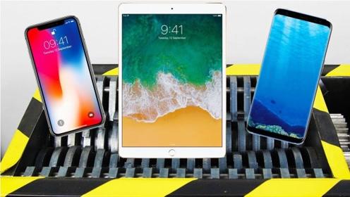 新买的苹果平板电脑,扔进粉碎机里,意想不到的事情发生了
