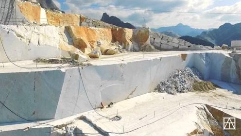 意大利的大理石为什么卖的这么贵?看到它的开采过程,全明白了