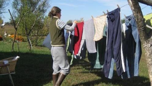 为什么美国人不喜欢在室外晾衣服?看完你可不许笑