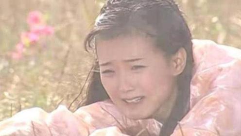 还珠格格:当萧剑狠心抛下晴儿的时候,她的选择让人泪奔