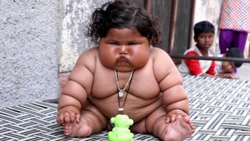 """出生轰动一时的14斤""""巨婴"""",10年过去了,如今他成什么样子?"""
