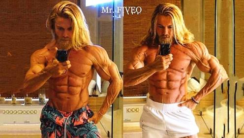 1年增肌5斤不增一点脂肪!男子体脂率3%,声称自然健身可能吗?