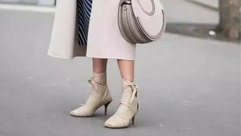 女人过了40少穿运动鞋,秋冬流行穿短靴,搭配裤子裙子都好看
