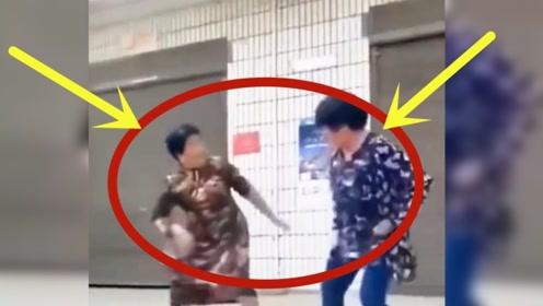 广场舞领队打架,这battle画面太奇妙,视频记录爆笑全程!