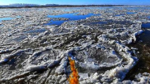 南极冰川消融,露出了不该出现的东西,真相会是什么