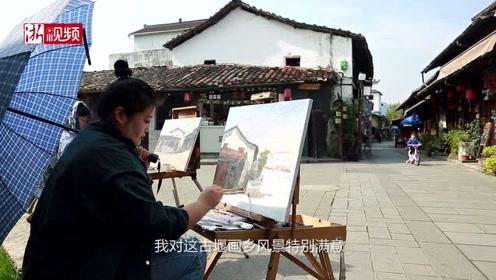 """这里有世界最早的拱形坝 与都江堰齐名 现在却因为一批画家成为""""网红"""""""