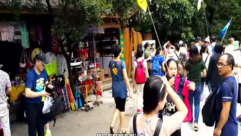 一个中国的旅游胜地,韩国人比中国人还多