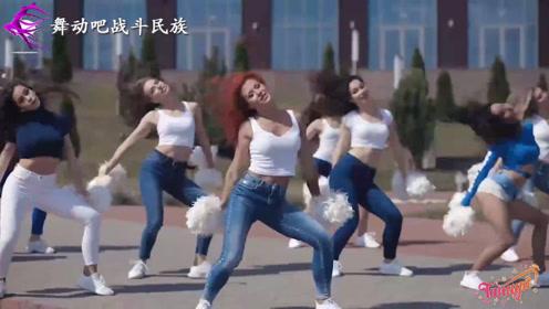 """实拍俄罗斯大学篮球啦啦队女孩表演,网友:个个都是""""校花级""""的"""