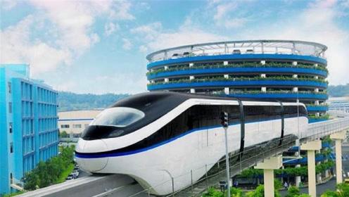 老外惊了:我们地铁还没修好,中国已推出云轨?中国人:基本操作