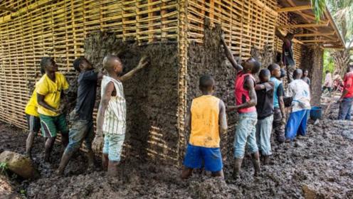 """非洲人到底有多""""懒""""?看看他们怎么盖房子,懒到令人无语了"""