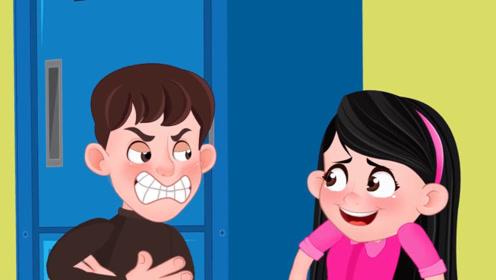 女孩暗恋男孩,却喜欢吃大蒜,交谈时一口大蒜味将男孩薰晕!