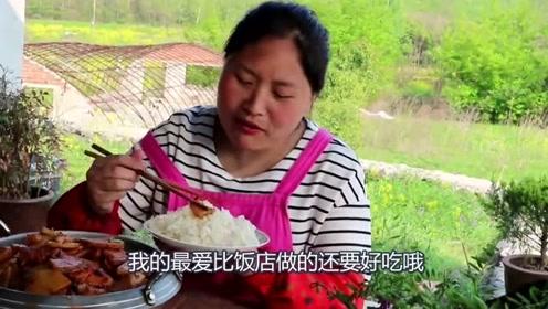 胖妹尝试四川风味的香锅,手抖忍不住下重手,吃了一口辣过瘾!