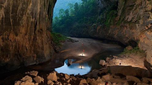 越南神秘洞穴现世,隐藏深山5万年之久,能容纳72亿人居住