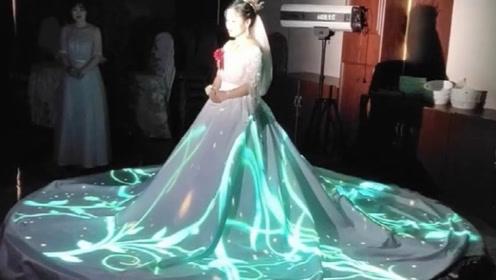 这样的婚礼也太美了,原来婚纱还可以这个样子!