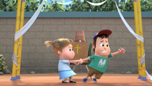 女孩将棒棒糖送给男孩,却遭到冷眼相待,从此俩人决裂!