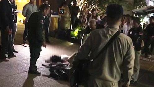 中国女子从柬埔寨12层公寓坠落身亡 2名国人被警方带走