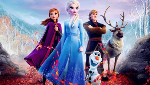 艾莎《冰雪奇缘2》法力再升级,绝美画面超精致!