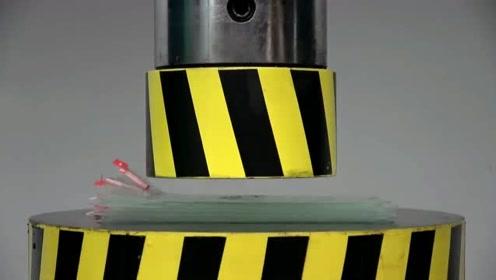 液压机VS手机保护膜,这回液压机败了