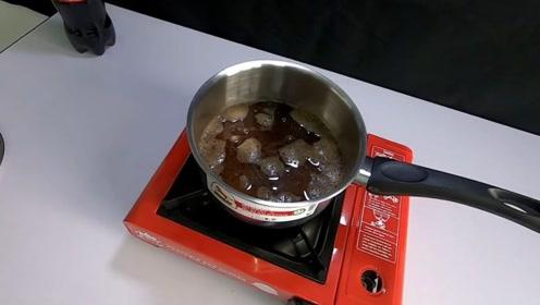 可乐也能用来煮米饭?国外小伙创意实验