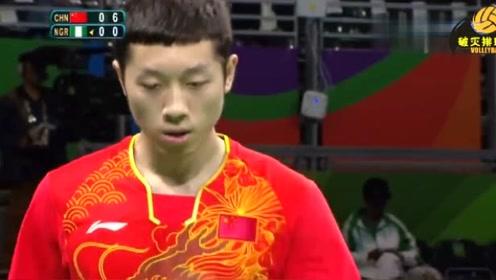奥运首秀,许昕2分钟扫了对手一个10:0,接下来这分演技大爆发!
