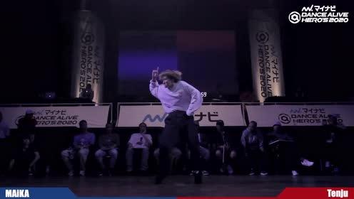 95后Hiphop世界冠军女神Maika出战