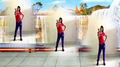 谢春燕原创广场舞《妹妹你是我的人》网红瘦腰瘦腹动感热力操