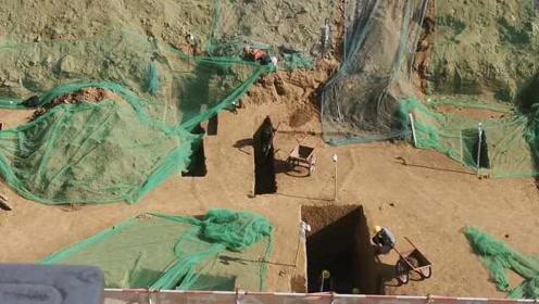 考古人员忙疯!西安一在建小学挖出古墓,施工方:平民墓没价值