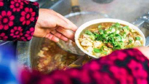 不一样的早晨:淮南牛肉汤,国内最油腻的早餐,大街小巷随处可见