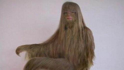 """全世界""""体毛""""最多的女人,把毛全部去掉后,真的被美到了!"""
