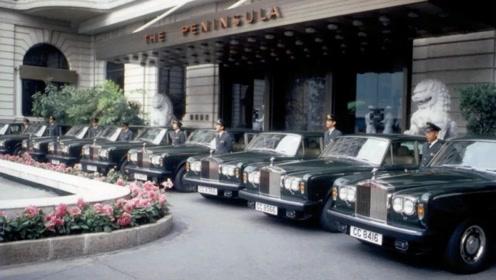 """全球""""最大""""的劳斯莱斯车队,足足50辆,郭富城、黎姿都在这摆酒"""