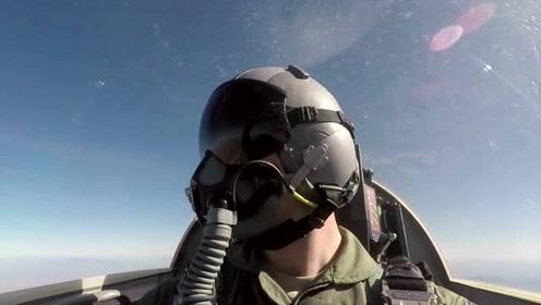 这才是真正的上帝视角,飞行员驾驶全过程,让人惊心动魄