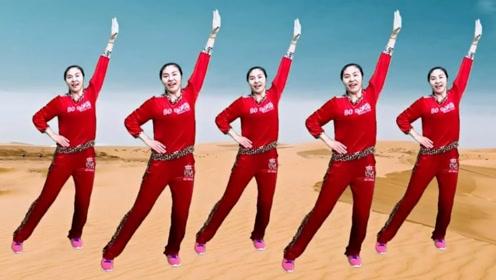 动感欢快健身舞来了!超赞的《黄土高坡》,动作简单你也能跳哦
