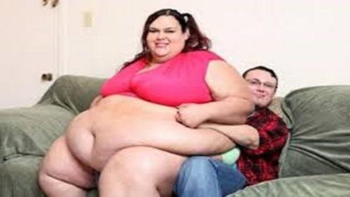 全世界最胖的女人,体重1吨重破世界纪录,却还想努力增肥!
