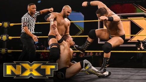 【NXT535期】老牌双打扛把子复兴者返乡 不敌现今双打小霸王无敌年代