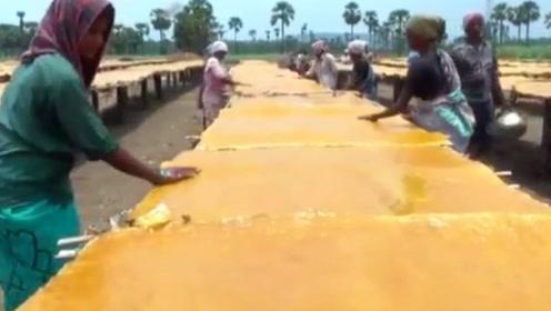 印度芒果干在中国畅销15年,看完生产过程,你还敢继续吃吗?