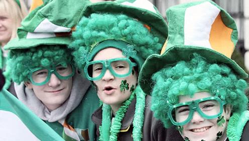 """欧洲一国偏爱""""绿帽子"""",男士也喜欢,连头发也染绿色"""