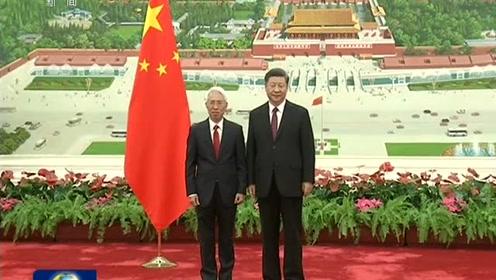习近平接受外国新任驻华大使递交国书