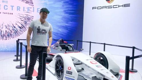 2019广州国际车展——保时捷FE赛车首次亮相